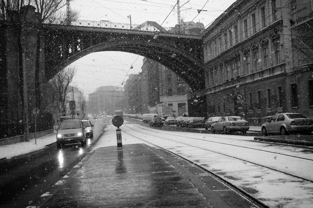 eisenbahnbrücke in wien