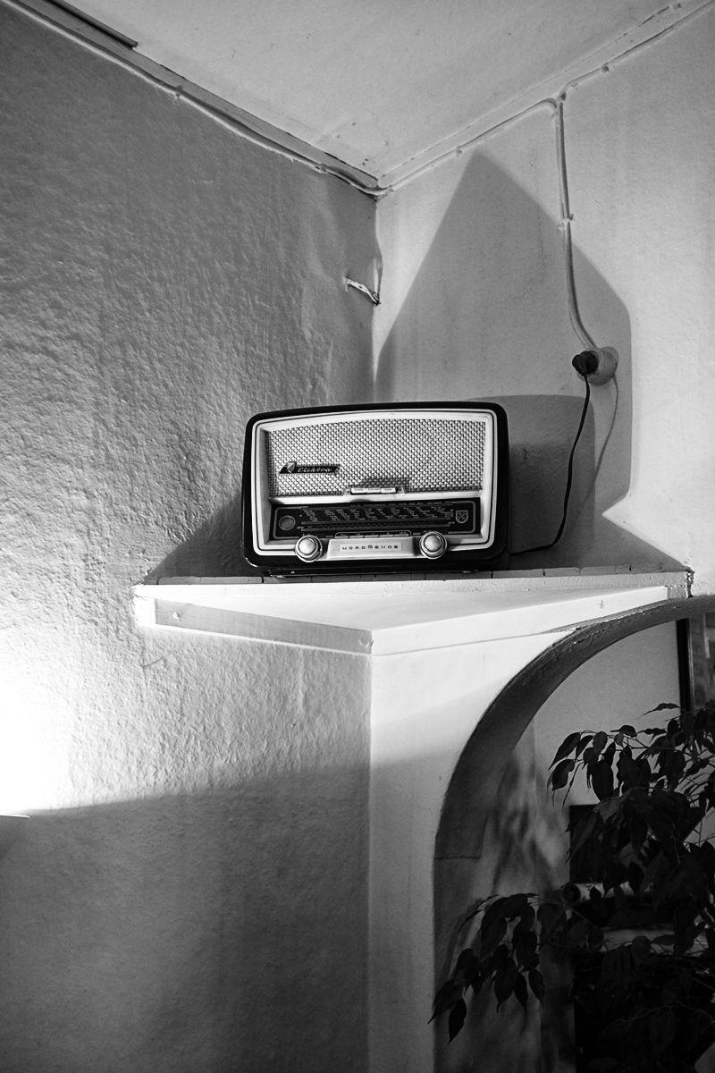 stillleben mit radio