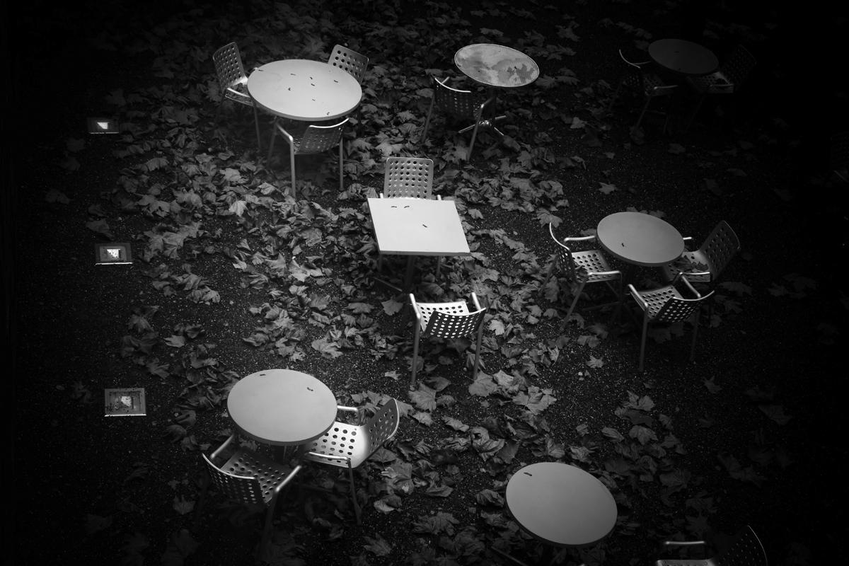 innenhofcafe vom kunsthaus zürich (ehemals)