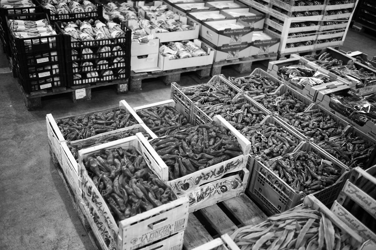 frucht und gemüsehandel