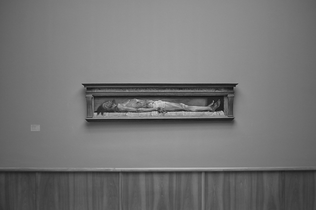 holbein; die leiche jesus, kunstmuseum basel
