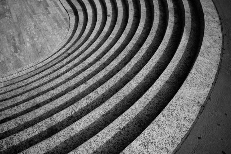 kammlinie, treppe beim opernhaus