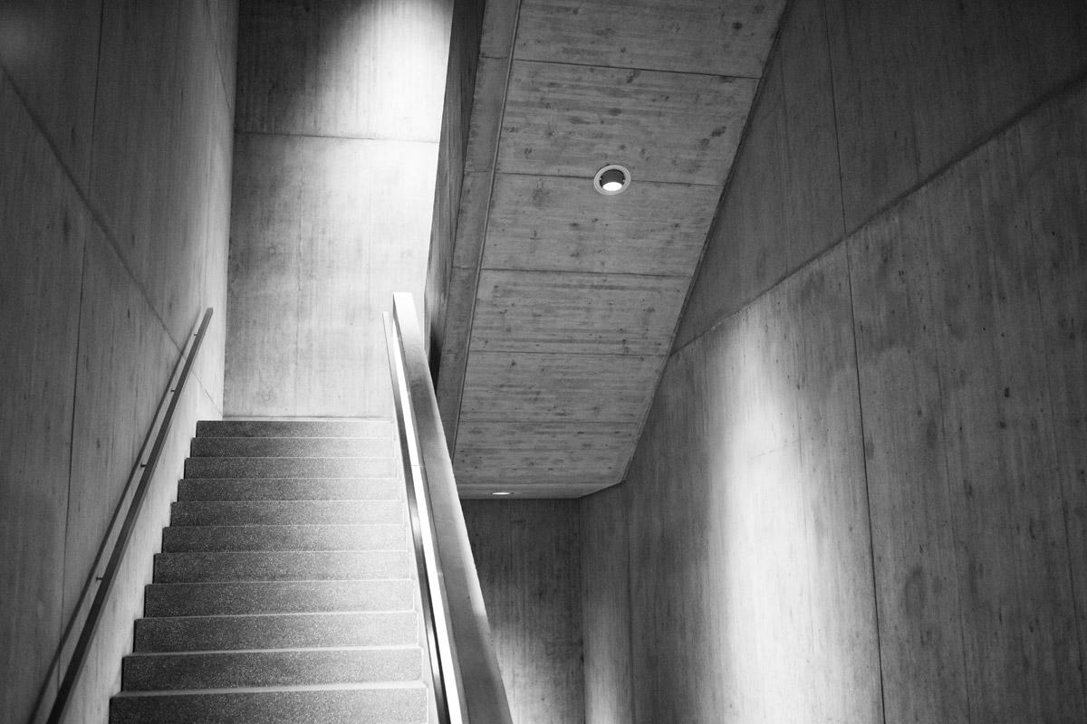 treppenhaus im kunstmuseum chur