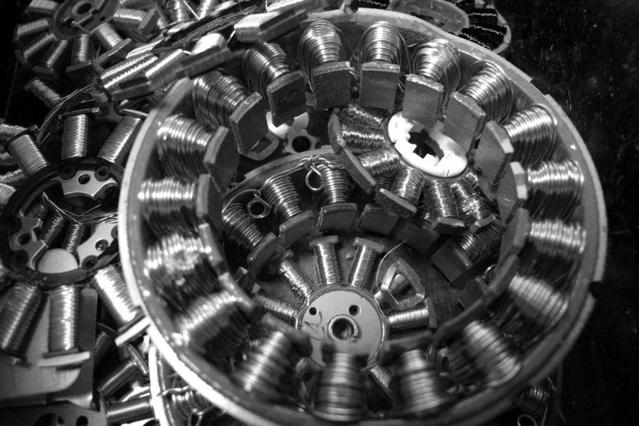 hightech lebensende, kupfer elektromotoren für das recycling