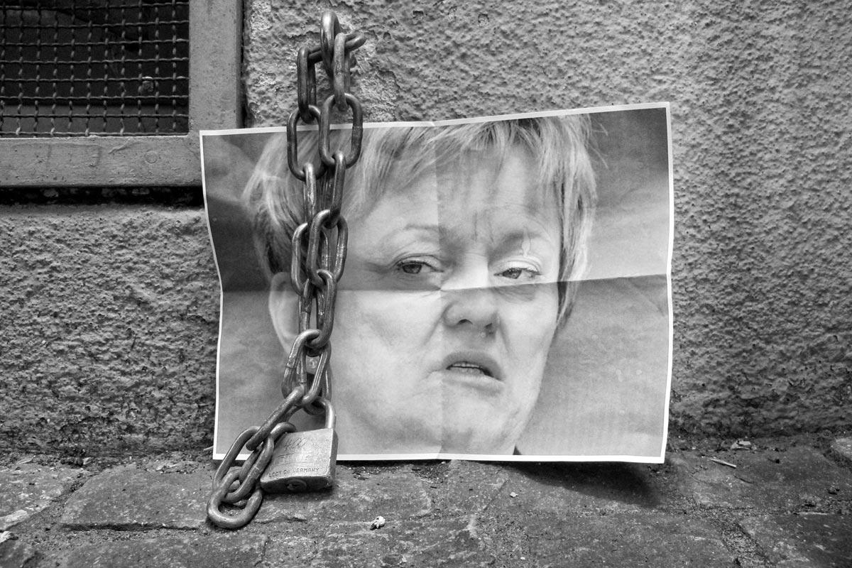 ein unglückliches portrait der BRD politikerin renate künast